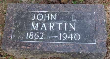 MARTIN, JOHN L - Baxter County, Arkansas | JOHN L MARTIN - Arkansas Gravestone Photos