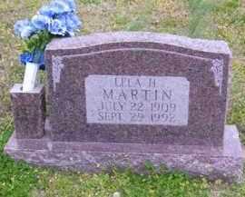 WATLEY MARTIN, LELA H. - Baxter County, Arkansas | LELA H. WATLEY MARTIN - Arkansas Gravestone Photos
