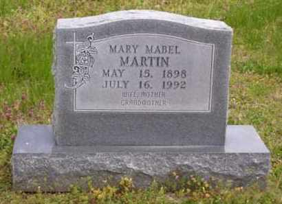 MARTIN, MARY MABEL - Baxter County, Arkansas | MARY MABEL MARTIN - Arkansas Gravestone Photos
