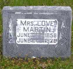ASKEW MARTIN, LOVE - Baxter County, Arkansas | LOVE ASKEW MARTIN - Arkansas Gravestone Photos