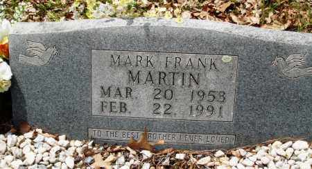 MARTIN, MARK FRANK - Baxter County, Arkansas | MARK FRANK MARTIN - Arkansas Gravestone Photos