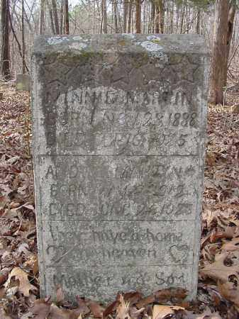 MARTIN, MINNIE - Baxter County, Arkansas | MINNIE MARTIN - Arkansas Gravestone Photos