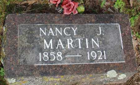 MARTIN, NANCY J - Baxter County, Arkansas | NANCY J MARTIN - Arkansas Gravestone Photos