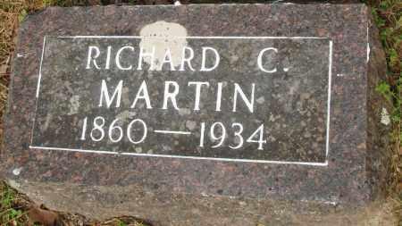 MARTIN, RICHARD C - Baxter County, Arkansas | RICHARD C MARTIN - Arkansas Gravestone Photos