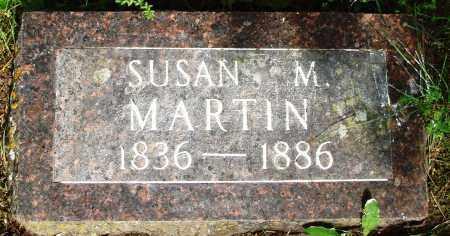 MARTIN, SUSAN M - Baxter County, Arkansas | SUSAN M MARTIN - Arkansas Gravestone Photos