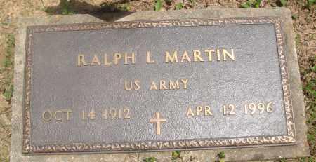 MARTIN (VETERAN), RALPH L - Baxter County, Arkansas | RALPH L MARTIN (VETERAN) - Arkansas Gravestone Photos