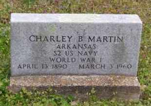 MARTIN (VETERAN WWI), CHARLEY BREWER - Baxter County, Arkansas | CHARLEY BREWER MARTIN (VETERAN WWI) - Arkansas Gravestone Photos