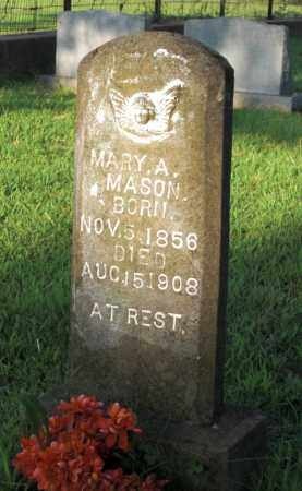 MASON, MARY A. - Baxter County, Arkansas | MARY A. MASON - Arkansas Gravestone Photos