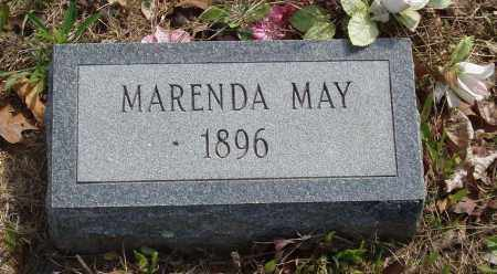 MAY, MARENDA - Baxter County, Arkansas | MARENDA MAY - Arkansas Gravestone Photos