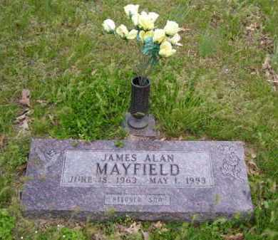 MAYFIELD, JAMES ALAN - Baxter County, Arkansas | JAMES ALAN MAYFIELD - Arkansas Gravestone Photos