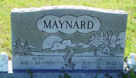 MAYNARD, ED - Baxter County, Arkansas | ED MAYNARD - Arkansas Gravestone Photos