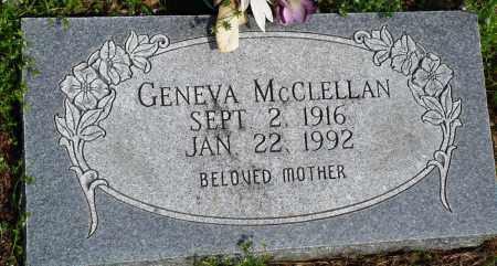 MCCLELLAN, GENEVA - Baxter County, Arkansas | GENEVA MCCLELLAN - Arkansas Gravestone Photos