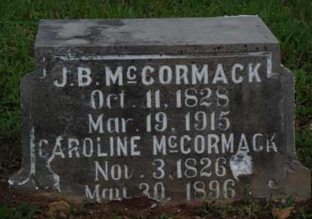 MCCORMACK, CAROLINE - Baxter County, Arkansas | CAROLINE MCCORMACK - Arkansas Gravestone Photos