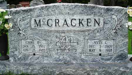 MCCRACKEN, AVIS C - Baxter County, Arkansas | AVIS C MCCRACKEN - Arkansas Gravestone Photos