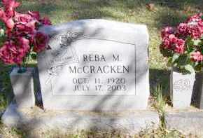 MCCRACKEN, REBA MARIE - Baxter County, Arkansas | REBA MARIE MCCRACKEN - Arkansas Gravestone Photos