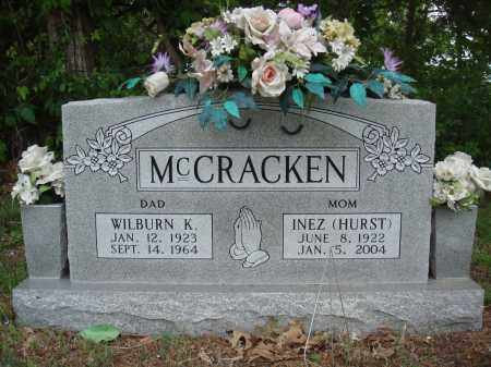 HURST MCCRACKEN, INEZ - Baxter County, Arkansas | INEZ HURST MCCRACKEN - Arkansas Gravestone Photos