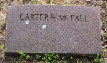 MCFALL, CARTER H. - Baxter County, Arkansas | CARTER H. MCFALL - Arkansas Gravestone Photos