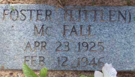 "MCFALL, FOSTER ""LITTLEN"" - Baxter County, Arkansas 