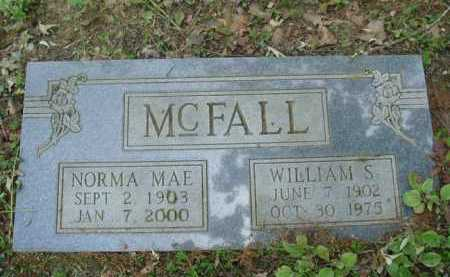 MCFALL, WILLIAM S. - Baxter County, Arkansas | WILLIAM S. MCFALL - Arkansas Gravestone Photos