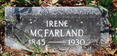 MCFARLAND, IRENE - Baxter County, Arkansas | IRENE MCFARLAND - Arkansas Gravestone Photos