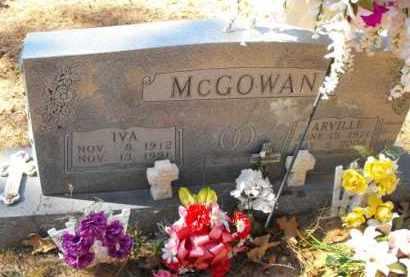 MCGOWAN, ARVILLE - Baxter County, Arkansas | ARVILLE MCGOWAN - Arkansas Gravestone Photos