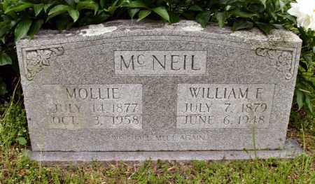 MCNEIL, WILLIAM E. - Baxter County, Arkansas | WILLIAM E. MCNEIL - Arkansas Gravestone Photos
