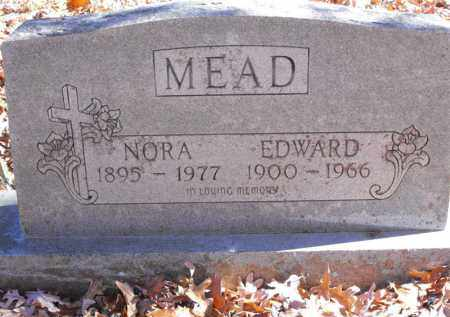 MEAD, NORA - Baxter County, Arkansas | NORA MEAD - Arkansas Gravestone Photos