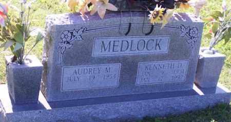MEDLOCK, KENNETH D - Baxter County, Arkansas | KENNETH D MEDLOCK - Arkansas Gravestone Photos