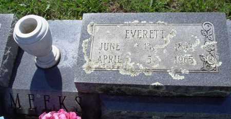 MEEKS, EVERETT - Baxter County, Arkansas   EVERETT MEEKS - Arkansas Gravestone Photos