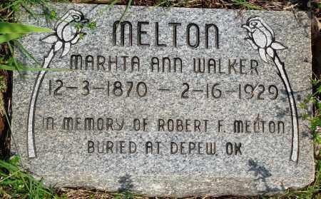 MELTON, MARTHA ANN - Baxter County, Arkansas | MARTHA ANN MELTON - Arkansas Gravestone Photos
