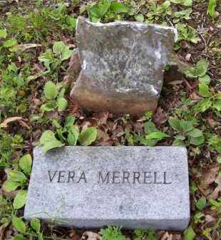 MERRELL, VERA - Baxter County, Arkansas | VERA MERRELL - Arkansas Gravestone Photos