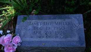 MILLER, JANET DEE - Baxter County, Arkansas | JANET DEE MILLER - Arkansas Gravestone Photos