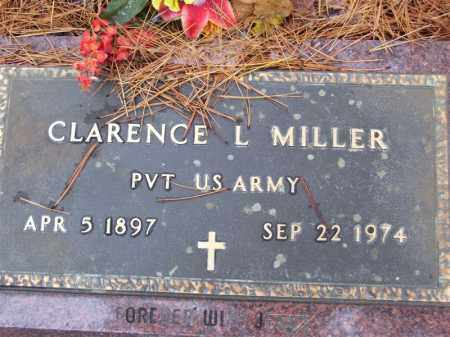 MILLER (VETERAN WWI), CLARENCE LEO - Baxter County, Arkansas | CLARENCE LEO MILLER (VETERAN WWI) - Arkansas Gravestone Photos