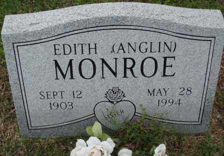 MONROE, EDITH - Baxter County, Arkansas | EDITH MONROE - Arkansas Gravestone Photos