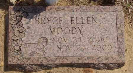 MOODY, BRYCE ELLEN - Baxter County, Arkansas | BRYCE ELLEN MOODY - Arkansas Gravestone Photos