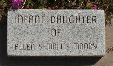MOODY, INFANT DAUGHTER - Baxter County, Arkansas   INFANT DAUGHTER MOODY - Arkansas Gravestone Photos