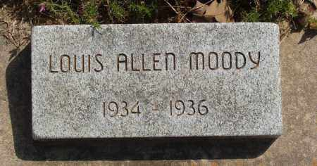 MOODY, LOUIS ALLEN - Baxter County, Arkansas | LOUIS ALLEN MOODY - Arkansas Gravestone Photos