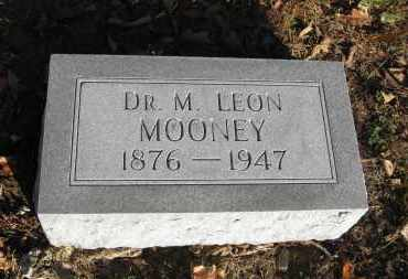 MOONEY MD, M. LEON - Baxter County, Arkansas | M. LEON MOONEY MD - Arkansas Gravestone Photos