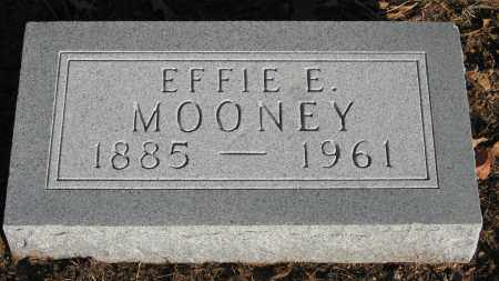 MOONEY, EFFIE E. - Baxter County, Arkansas | EFFIE E. MOONEY - Arkansas Gravestone Photos