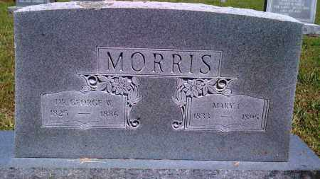 MORRIS, GEORGE W - Baxter County, Arkansas | GEORGE W MORRIS - Arkansas Gravestone Photos
