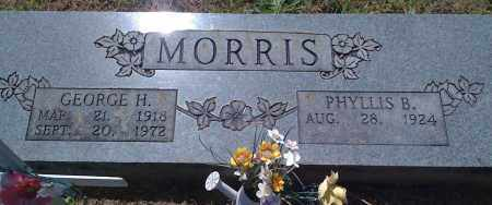 MORRIS, GEORGE H - Baxter County, Arkansas | GEORGE H MORRIS - Arkansas Gravestone Photos