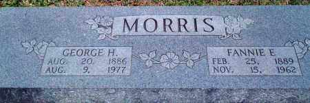 MORRIS, GEORGE H - Baxter County, Arkansas | GEORGE H MORRIS - Arkansas Gravestone Photos