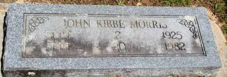 MORRIS, JOHN KIBBE - Baxter County, Arkansas | JOHN KIBBE MORRIS - Arkansas Gravestone Photos