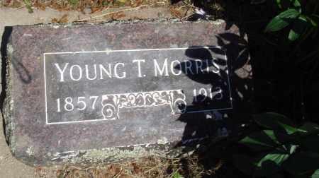 MORRIS, YOUNG T - Baxter County, Arkansas | YOUNG T MORRIS - Arkansas Gravestone Photos