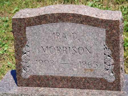 MORRISON, IRA D - Baxter County, Arkansas | IRA D MORRISON - Arkansas Gravestone Photos