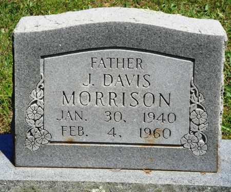 MORRISON, J DAVIS - Baxter County, Arkansas | J DAVIS MORRISON - Arkansas Gravestone Photos