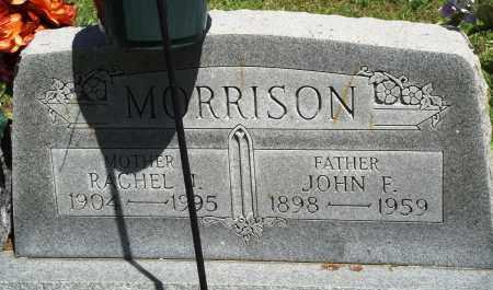 MORRISON, JOHN F - Baxter County, Arkansas | JOHN F MORRISON - Arkansas Gravestone Photos