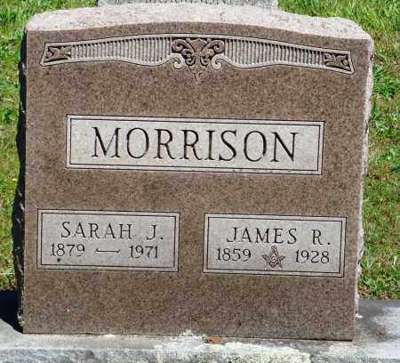 MORRISON, JAMES R - Baxter County, Arkansas | JAMES R MORRISON - Arkansas Gravestone Photos