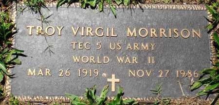 MORRISON (VETERAN WWII), TROY VIRGIL - Baxter County, Arkansas | TROY VIRGIL MORRISON (VETERAN WWII) - Arkansas Gravestone Photos