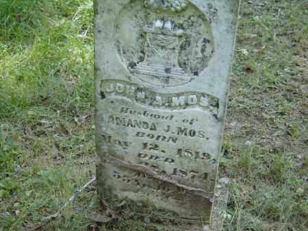 MOSS, JOHN - Baxter County, Arkansas | JOHN MOSS - Arkansas Gravestone Photos